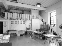 GSA Archives photograph of Studio 52 on the top floor of the Mackintosh Building (Archive reference: GSAA/P/7/364/50)
