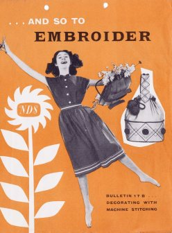 And So to Embroider (Archive reference: NDS/PUB/5/17B)
