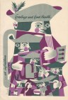 Greetings and Good Health, c1960s by Gordon F Huntly, GSA Archives and Collections (archive reference: DC073/1/34)