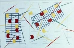 Slide of Fraser Taylor's GSA student work (Archive Reference: DC089/1/3/2/33)