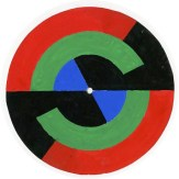 A selection of three of the collection's colour wheels and their opposing sides (Archive Reference: DC 090)