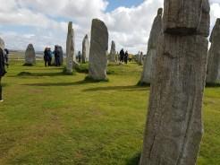 Standing Stones at Calanais.