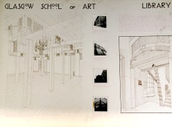 Drawings of the Mackintosh Library (NMC/1790)
