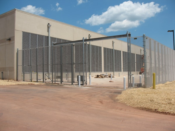 Anti-Climb Enclosure with Gate