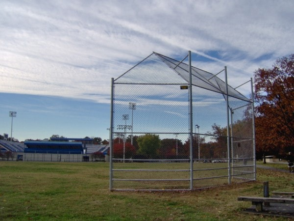 Heavy Duty Galvanized Backstop
