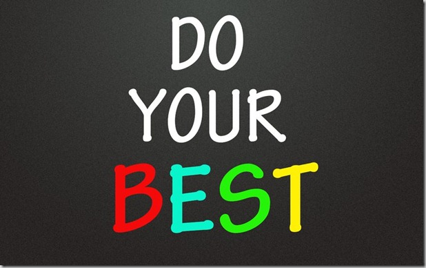 Do Your Best - GSalam.Net
