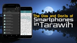 Smartphones in Tarawih - GSalam.Net