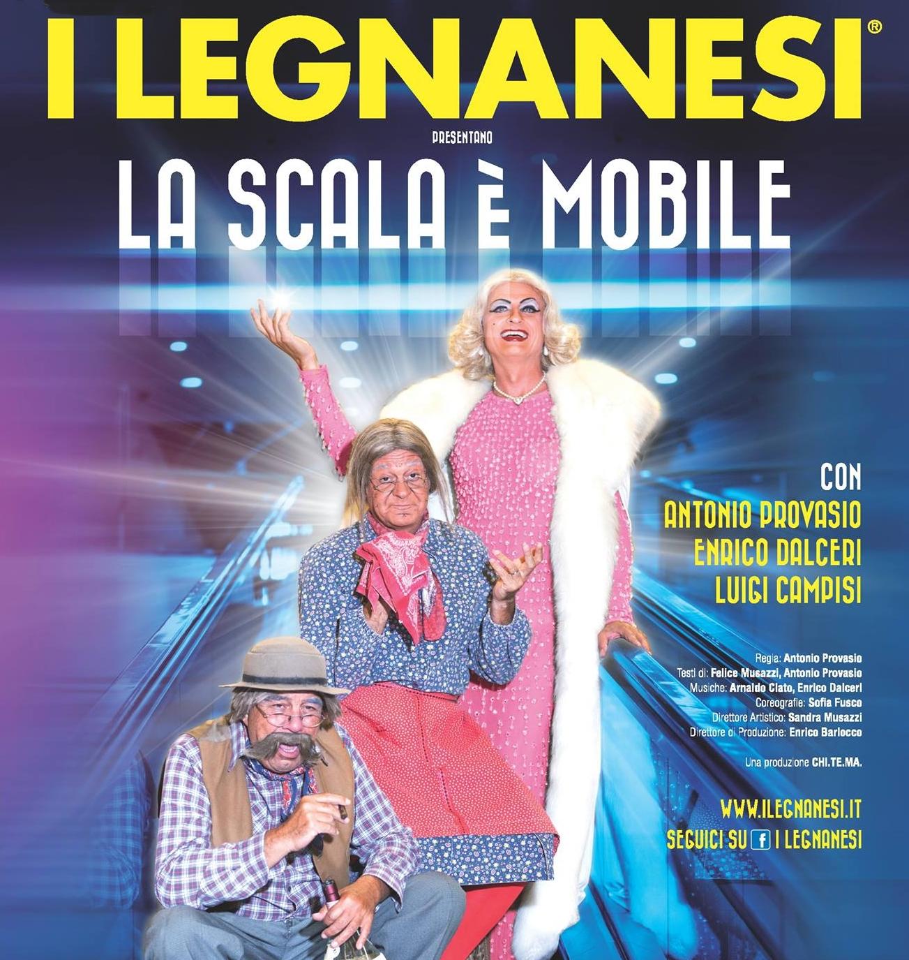 I LEGNANESI – La scala è mobile al Teatro Nazionale sino al