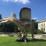 """SPINOSAURUS  nei Giardini Pubblici """"Indro Montanelli""""–Milano"""