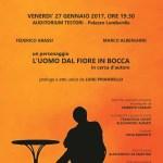 """""""L'uomo dal fiore in bocca"""" di Pirandello per i progetti di Fondazione Donna a Milano Onlus"""
