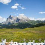 Tabbla Toò, il menu open air al cospetto delle Dolomiti