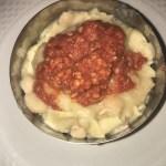 Maltagliati con Ragù e Fagioli al burro