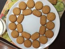 Semifreddo al biscotto con crema senza uova
