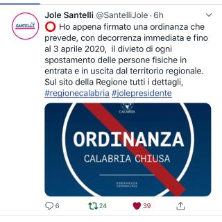 Diario di una quarantena - 25 Marzo 2020 - Lo sbarco bloccato - Italia divisa