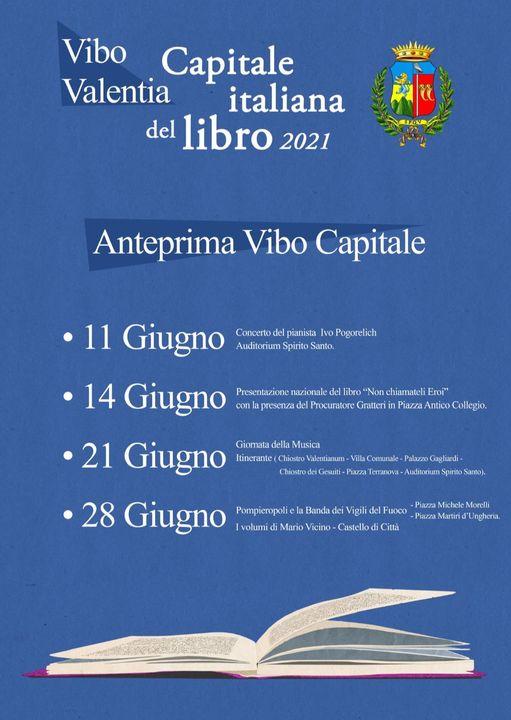 Eventi Vibo Valentia Capitale Italiana del libro 2021