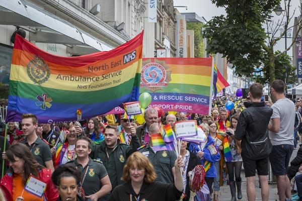 Newcastle Pride 2017: Picture: David Wood