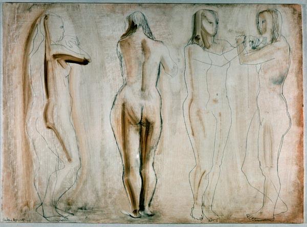 Barbara Hepworth - Four Figures