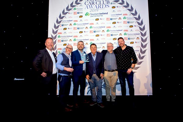 The Gay Classic Car Club takes National Car Club of the Year award