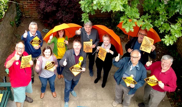 LibDems celebrate their best ever showing in the European Elections