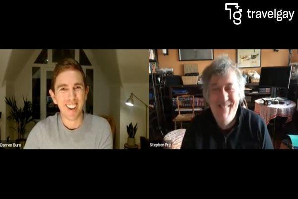 Stephen Fry Meets Travel Gay