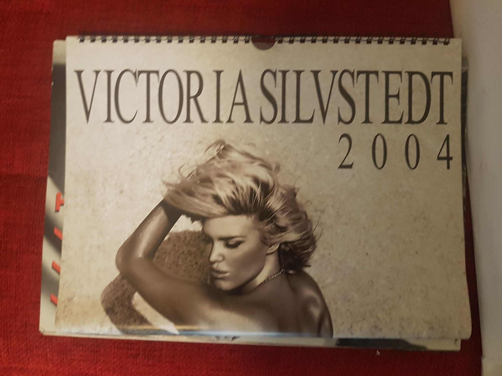 Monica Bellucci Calendario Max.Victoria Silvstedt Calendario 2004