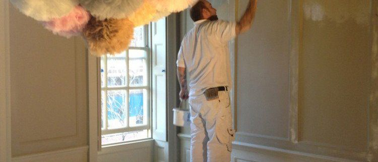 Decorating a London town house