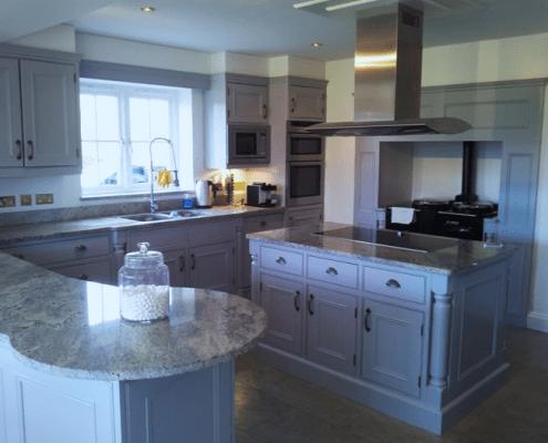 Hand painted kitchens Regents Park