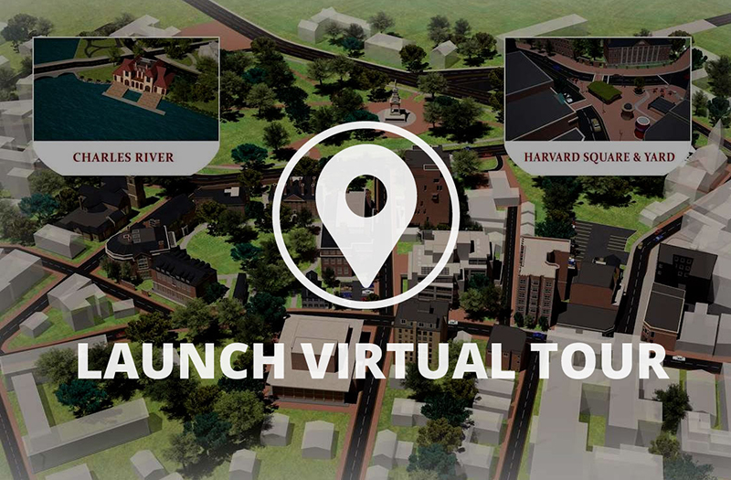 Tips memilih universitas dari jarak jauh  - tur virtual Harvard University