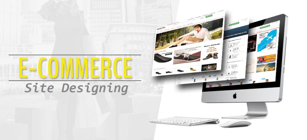 e-commerce site design
