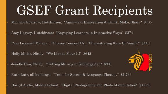 GSEF Grants