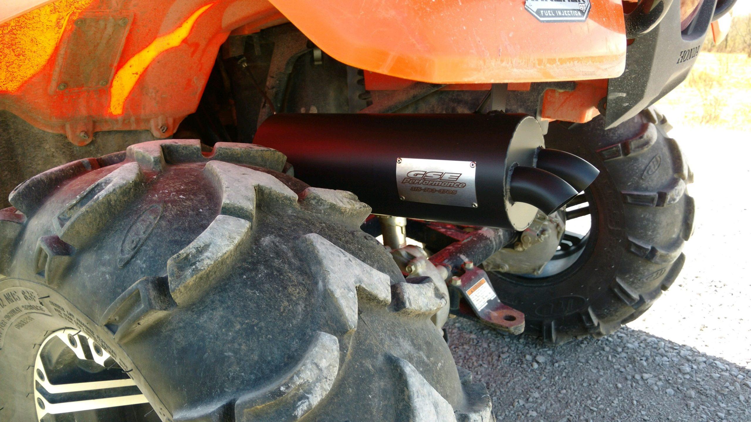 18300 honda rancher 420 foreman 500 2014 2020 full exhaust
