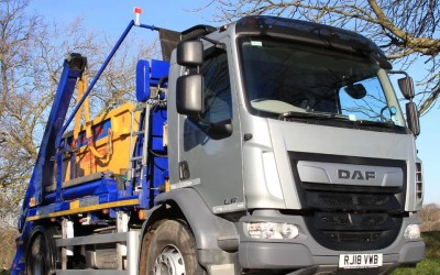 New Environmentally Friendly Skip Lorry