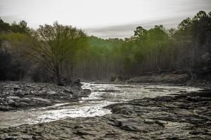 Broken Bow river