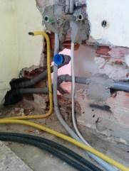 predisposizione attacco lavabo cucina e gas