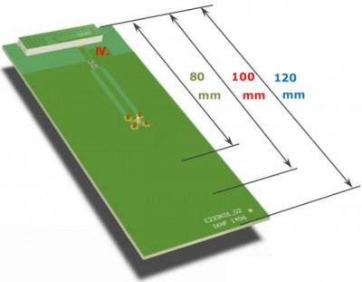 LTE antenna embedded eval board 400x311 Embedded LTE antenna in detail