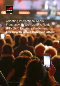 Adopting International RF-EMF Exposure Guidelines: Benefits for 5G Network Deployment in Russia image