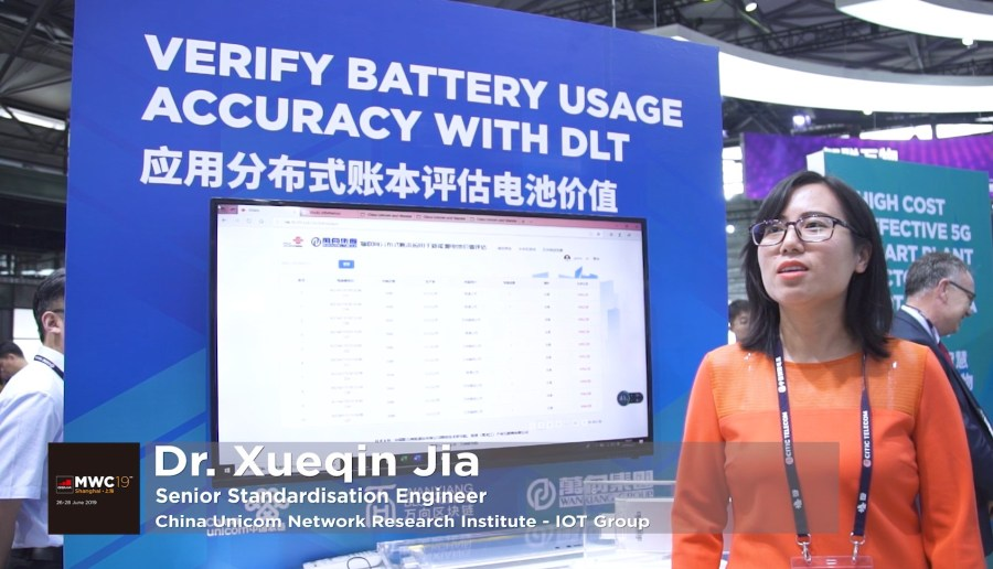 Reliable Battery Value Tracking Solution Based on Distributed Ledgers Technology – China Unicom image