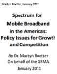 Spectrum for Mobile Broadband in the Americas: Policy Issues for Growth and Competition image