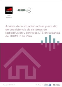 Coexistence of broadcast and LTE service systems in 700MHz band in Peru image