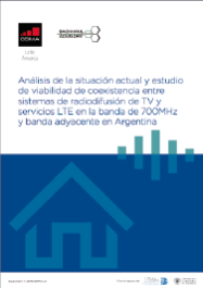 Study of coexistence of LTE broadband and TV broadcasting services in  Argentina image