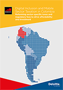 Digital Inclusion and Mobile Sector Taxation in Colombia 2016 image