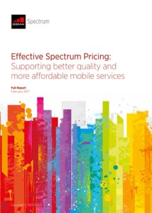 Effective Spectrum Pricing:Supporting better quality and more affordable mobile services image