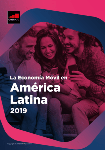 The Mobile Economy Latin America 2019 image