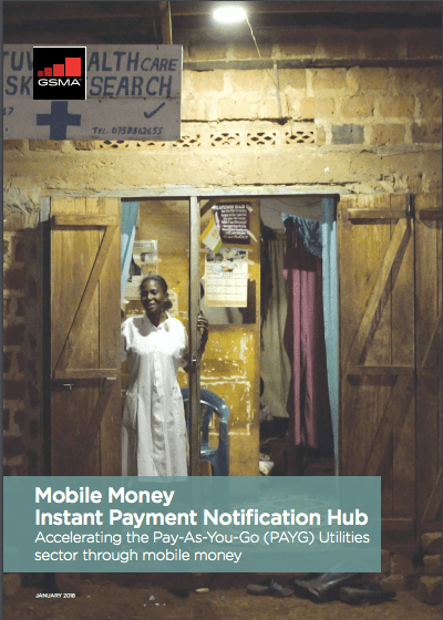 Instant Payment Notification (IPN) Hub: Accelerating the Pay-As-You-Go (PAYG) Utilities sector through mobile money image