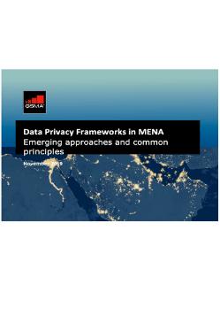 Data Privacy Frameworks in MENA image