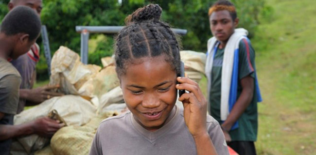 Information via Mobile to Tackle Gender-based Violence