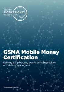 A quick guide to the GSMA Mobile Money Certification image