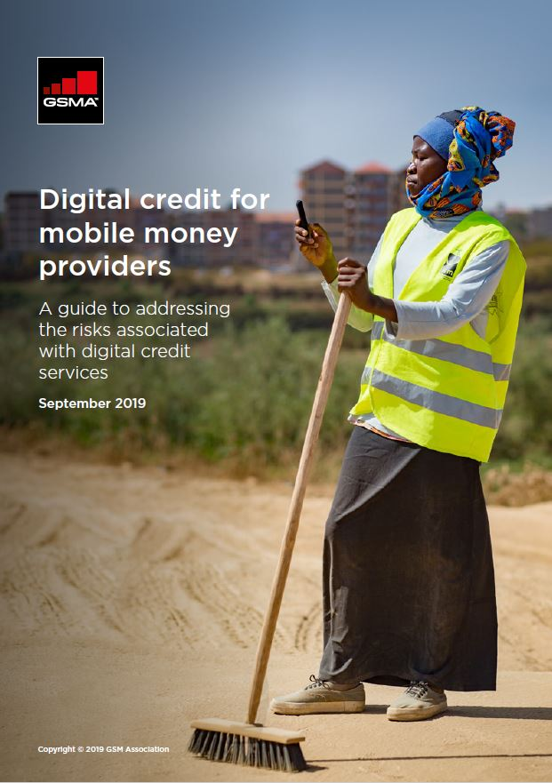 Digital credit for mobile money providers: A guide to addressing the risks associated with digital credit services image