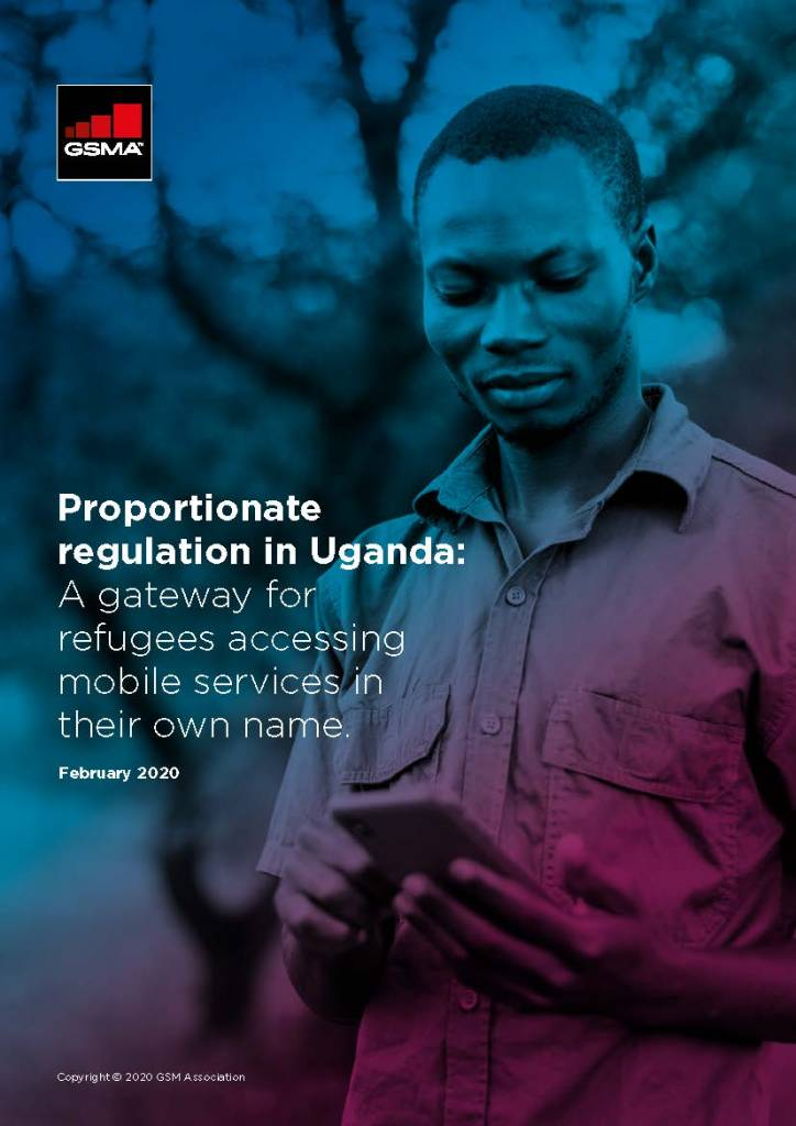 Proportionate regulation in Uganda: A gateway for refugees accessing mobile services in their own name image