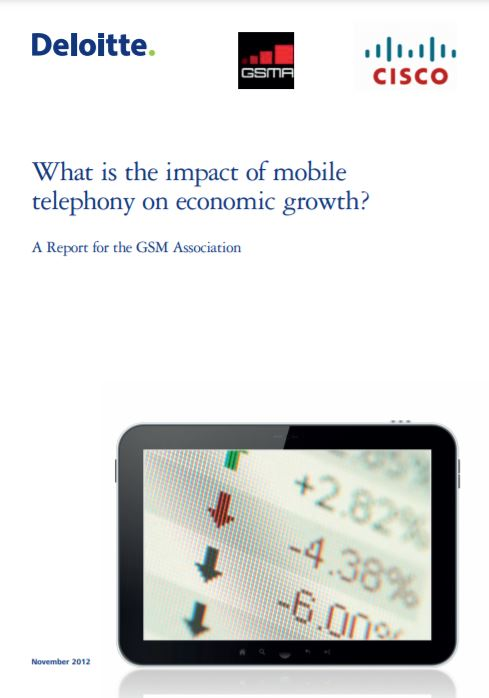 What Is the Impact of Mobile Telephony on Economic Growth? 2012 image